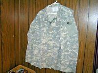 Army Combat Shirt Medium Long ACU Digital Camo Paintball Prepper Hunting USGI