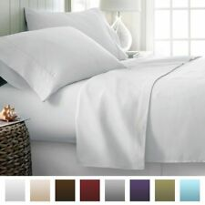 "All Size Bedding Items (15"" Drop) 100% Egyptian Cotton 1000 TC White Solid.,"