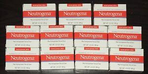 Lot of 11 Neutrogena Transparent Facial Bar Soap for Acne-Prone Skin 3.5 oz each