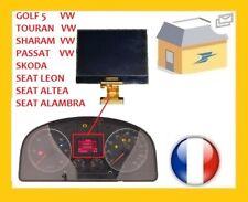 ECRAN LCD COMPTEUR petit ODB GOLF 5, TOURAN, SHARAN, PASSAT, SEAT LEON, ALTEA