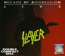 Live-Decade Of Aggression - Slayer (2007, CD NEUF)