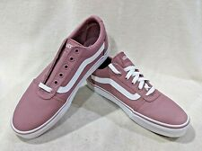 Vans Women's Ward Nostalgia Rose Low Canvas Skate Shoes - Size 10 NWB