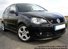 Für VW Polo 9N3 Front Spoiler Lippe Frontschürze Frontlippe Frontansatz GTI GT-