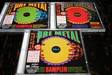 V.A. Pure metal sampler vol.1. vol.2. vol.4. !!! JAPAN VERSION OBI