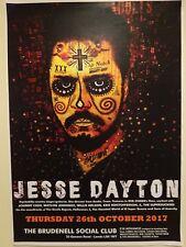 JESSE DAYTON official UK GIG POSTER promo print cd