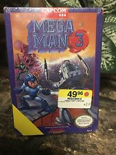 Mega Man 3 (Nintendo NES, 1990) NEW Factory Sealed #1