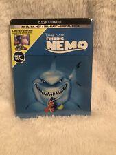 Finding Nemo 4K + Blu-ray + Digital Best Buy Ltd Edition Steelbook New Sealed