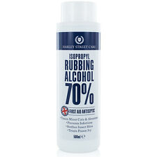 More details for isopropyl rubbing alcohol 70% first aid antiseptic 500ml, isopropanol pure ipa