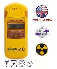 Ecotest détecteur de rayonnement Terra-P MKS-05 Geiger Mesure DOSIMÈTRE Gamma