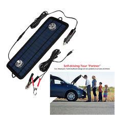 12V 5W Portable Chargeur Solaire Panneau Batterie Voiture Auto Bateau Automobile