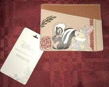 DISNEY LOUNGEFLY - Bambi  Thumper And Flower Cardholder ID Wallet