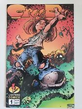 CREED #1 (1995) LIGHTNING COMICS LOW PRINT RUN! WRITTEN & DRAWN by TRENT KUNIUGA