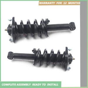 New Pair Rear Complete Strut Coil Spring Assembly For 2012-016 Honda CRV AWD MK4