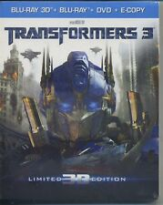 TRANSFORMERS 3  REAL 3D   BLU-RAY 3D + BLU-RAY - NUOVO