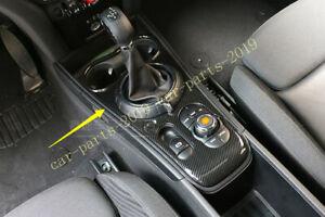 Carbon Fiber Interior Gear Shift Box Panel Cover For Mini Cooper Countryman F60