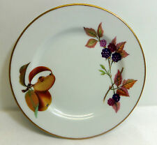 Evesham Gold Bread and Butter Plate Royal Worcester England