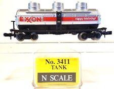 N Model Power 3411 40ft Triple Dome Tanker Exxon Chemical Co