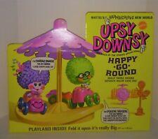 Mattel Upsy Downsy Happy Go Round Mint in minty box Nice crisp sealed Playland