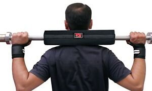"""BARBELL 16"""" PAD WEIGHT LIFTING BODYBUILDING GYM SUPPORT PROTECTION HARD BAR PAD"""