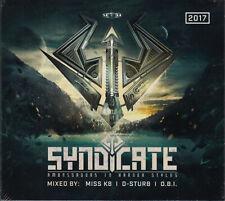 Syndicate 2017 - Ambassadors In Harder Styles 3CD:MISS K8,D-STURB,O.B.I.,F.NOIZE
