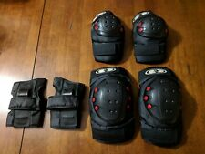 ARMOR COMBO PACK ELBOW KNEE WRIST PAD SET. 3200 SERIES. LARGE FOR 181-230 LBS.