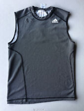 Men's Adidas Reversible Sleeveless Training Shirt Pre-Owned Size M