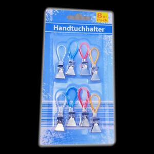 Handtuch-Haken Geschirrtuch Aufhänger Handtücher-Clips  Geschirrtücher Halter