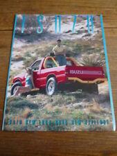 ISUZU RANGE BROCHURE 1988, USA