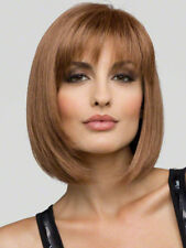 Blonde Wig Short Perucas Sex Cosplay Wig Synthetic Bangs Hair Women's Full Wigs