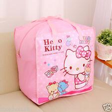 Hello Kitty Jumbo Blanket Storage Bag For Quilts, Dry, Winter Coat KK681