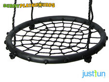 "23"" SWING SEAT SET TREE STORK NEST WEB ACCESORIES KIDS PLAY SET TIRE BACKYARD"