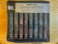 Game Of Thrones Complete Collection Steelbook (4K UHD) No digital