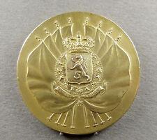 """Belgian, Patriotic Medal. Flag, Lion. """"L'union fait la Force"""" 1937. Braban."""