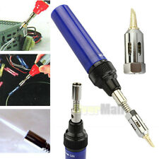 Mini Cordless Butane Torch Gas Solder Pen Iron Gun Welding Compact Refillable US
