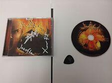 Spellblast Battlecry RARE SIGNED BY BAND MEMBERS CD W PLECTRUM 2010 884502404838
