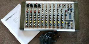 Soundcraft Compact 10 Mixing Desk 16 Channel Audio Mixer