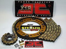 Kawasaki KLR650 1990-16 JT Gold 520 X-Ring Supersprox Chain and Sprocket Kit