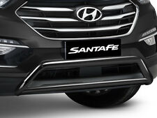 Genuine Hyundai Santa Fe DM Series II low mount Alloy Nudge Bar Charcoal Finish