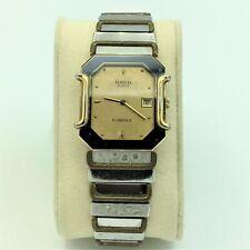 Vintage Rado Quartz Florence Day/Date #160.3409.2 Mens Wrist Watch Running