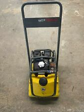 Wacker Neuson Wp1550 Plate Compactor With Honda Engine And Water Tank