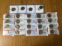 LOTTO 24 MONETE STATI UNITI UNITED STATES 1 DOLLARO PRESIDENTI DAL 1789 AL 1897