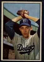 1953 Bowman Color #14 Billy Loes EX/EX+ Dodgers A1301