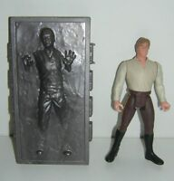 Star Wars Loose Han Solo and Carbonite POTF2 1st Release!
