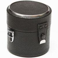 "Vivitar Hard Lens Case 3"" For Canon Tokina Minolta Olympus Tamron Konica Lenses"