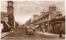 King Street Kilmarnock Motor Car RP old pc used Valentines