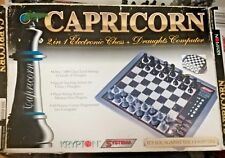 Krypton Systema Capricorn 2 in 1 Electronic Chess Computer Parts or Repair 962