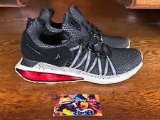 Nike Shox Gravity Mens Running Shoe Red/Grey/Black AR1999 006 NEW Size 10
