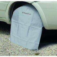 Eurotrail Caravan Motorhome 13inch Wheel Tyre PVC Cover Protector 2xTie Down Peg