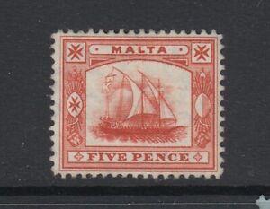 Malta, Scott 44 (SG 59), MHR