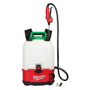 Milwaukee 2820-20PS M18 18V 4 Gallon Switch Tank Backpack Sprayer, Bare Tool